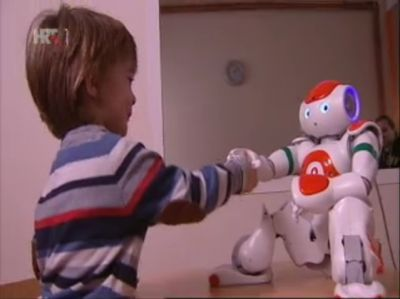 ACROSS' Nao robots featured on...